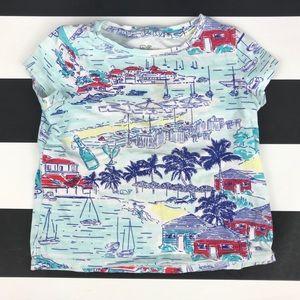 5 for $25 Vineyard Vines Beach Print Tee Shirt